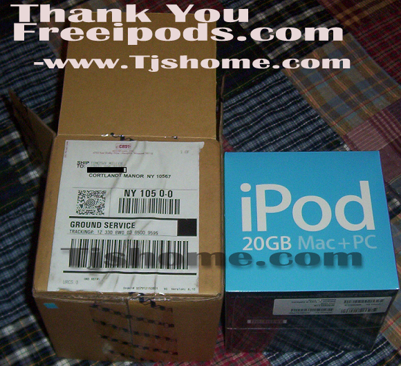 Another free iPod