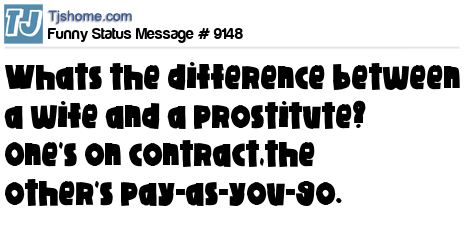 Wife contract funny